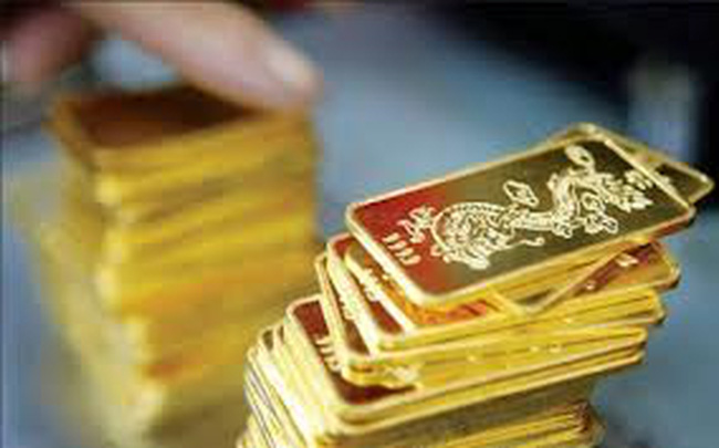 Tuần này giá vàng giảm 200 nghìn đồng/lượng