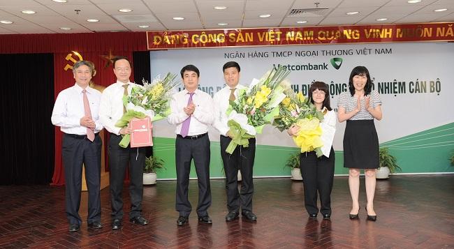 Vietcombank bổ nhiệm hàng loạt nhân sự chủ chốt ở Hội sở chính