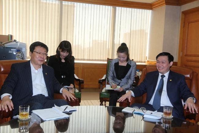 Gần 10 ngân hàng, tổ chức tài chính Hàn Quốc muốn đầu tư vào Việt Nam