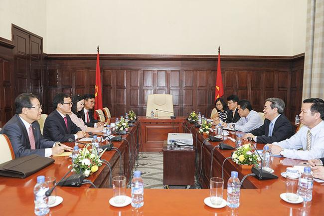Ngân hàng của Hàn Quốc muốn thúc đẩy đầu tư và hoạt động tại Việt Nam