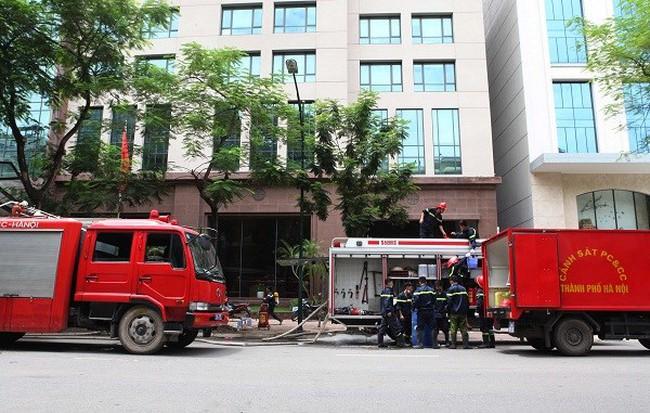 Ngân hàng Nhà nước lên tiếng về vụ cháy tầng hầm trụ sở