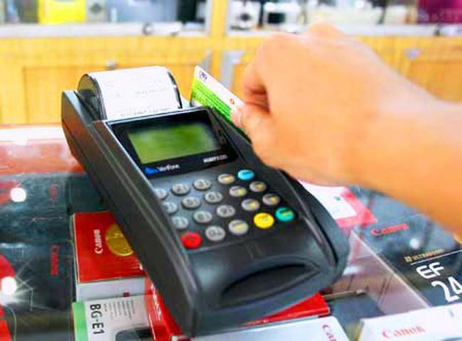 Các ngân hàng đã lắp đặt được 149.000 POS thanh toán thẻ