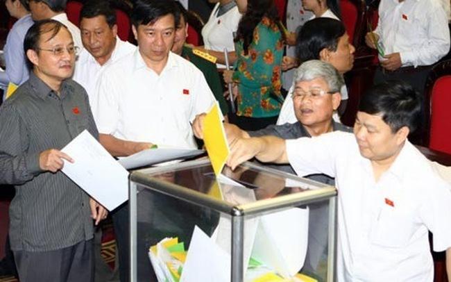 Trung tuần tháng 11, Quốc hội lấy phiếu tín nhiệm
