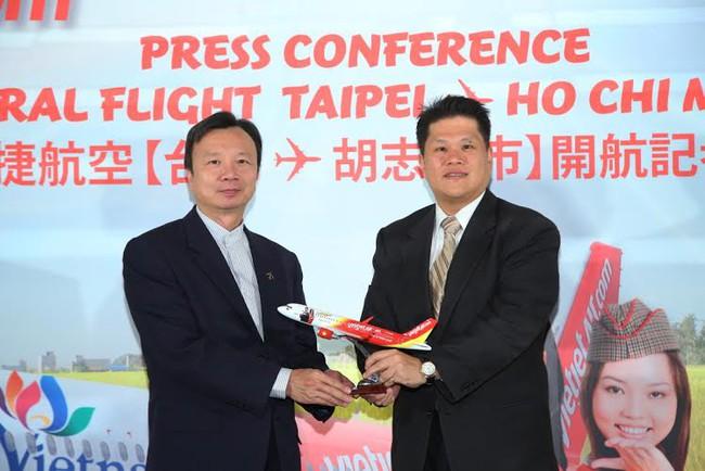 VietJet mở đường bay tới Đài Loan