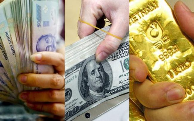 Ngày 5/11: Vàng SJC, USD tự do và ngân hàng cùng rớt giá