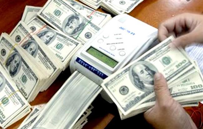 USD ngân hàng về 21.320 đồng