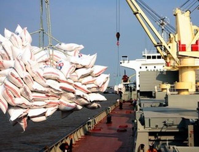 Đã xuất khẩu được gần 5,5 triệu tấn gạo, trị giá gần 2,4 tỷ USD