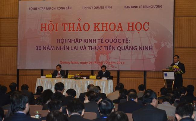 Trưởng Ban Kinh tế Trung ương gợi mở 4 giải pháp cho hội nhập quốc tế