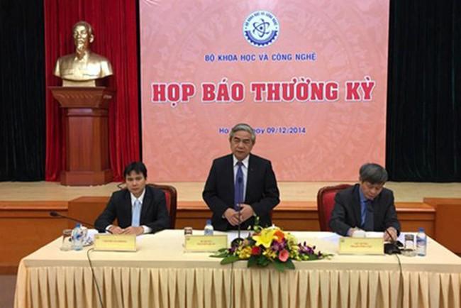 Bộ KH&CN họp báo thường kỳ lần đầu