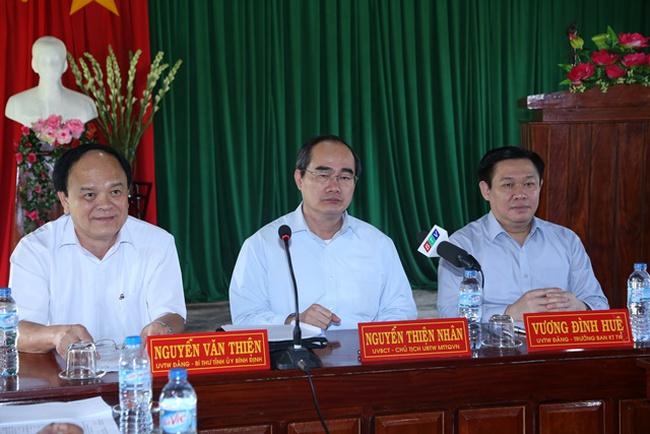 Ban Kinh tế Trung ương và Ủy ban T.Ư MTTQ Việt Nam khảo sát mô hình hợp tác xã tại Bình Định