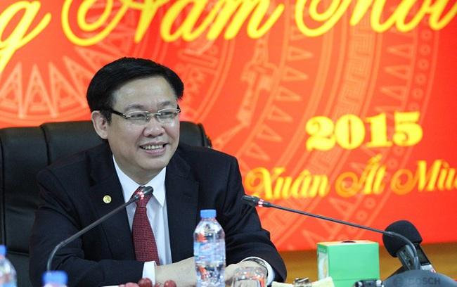 Ông Vương Đình Huệ nhận định về triển vọng nền kinh tế Việt Nam 2015