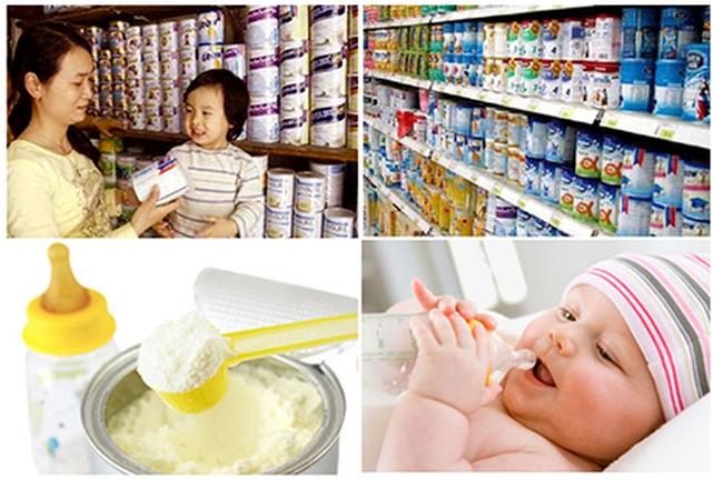 Giá sữa nguyên liệu thế giới giảm chưa tác động nhiều đến giá sữa bán trong nước