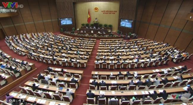 Quốc hội chính thức thông qua Luật tổ chức Quốc hội