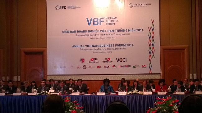 """Khai mạc diễn đàn VBF 2015: """"Mục tiêu tăng trưởng 5,8% của năm nay chắc chắn sẽ vượt"""""""