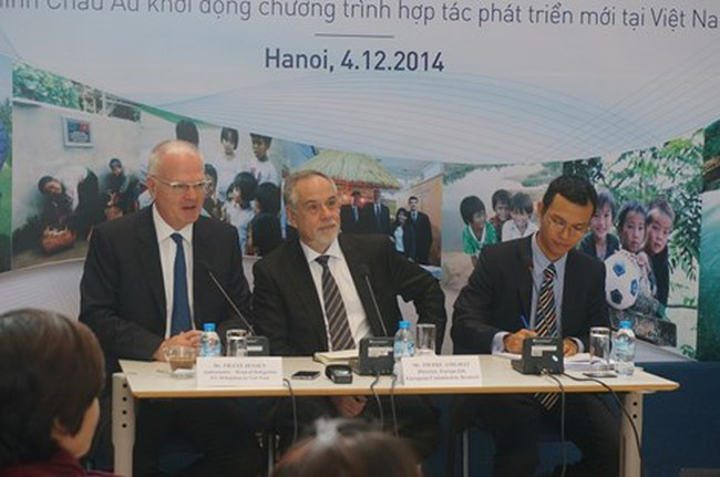 EU hỗ trợ hơn 500 triệu euro cho Việt Nam