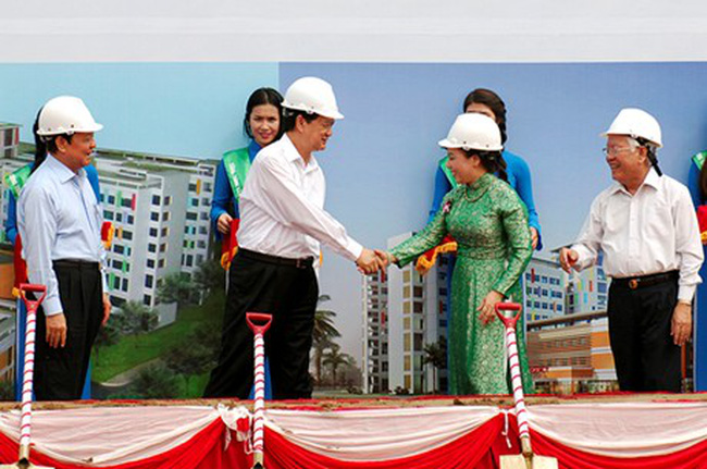 Khởi công xây dựng Bệnh viện Nhi Đồng TPHCM