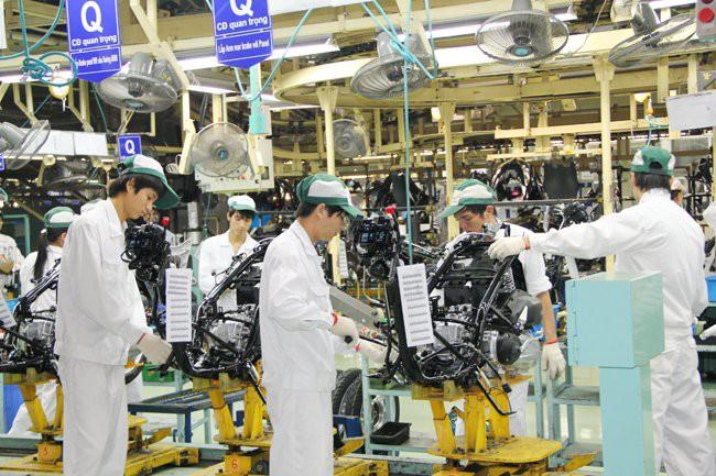 Vốn ngoại ồ ạt đổ vào ngành công nghiệp chế biến, chế tạo