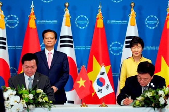 Việt Nam-Hàn Quốc kết thúc đàm phán FTA