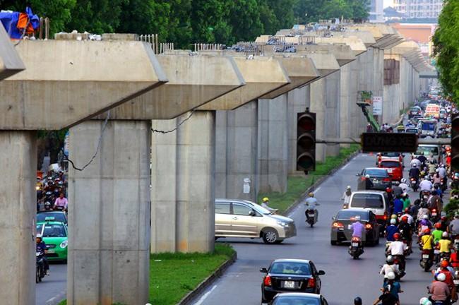 Pháp tài trợ 85 triệu euro cho tuyến đường sắt đô thị Hà Nội