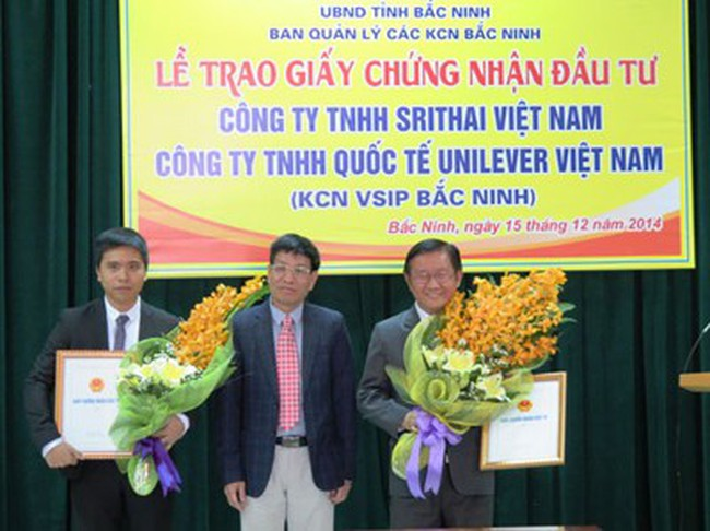"""Bắc Ninh có thêm 2 dự án """"chục triệu đô"""""""