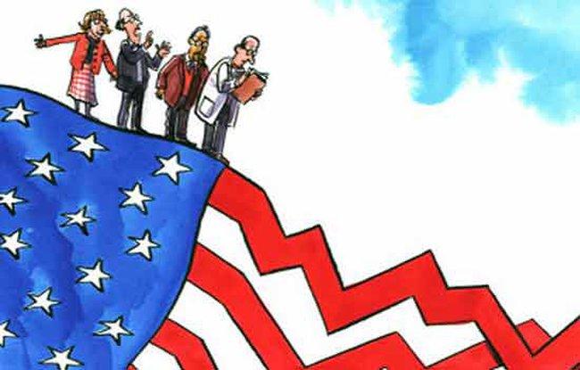 """""""Bóng ma"""" suy thoái không còn đe dọa nền kinh tế Mỹ?"""