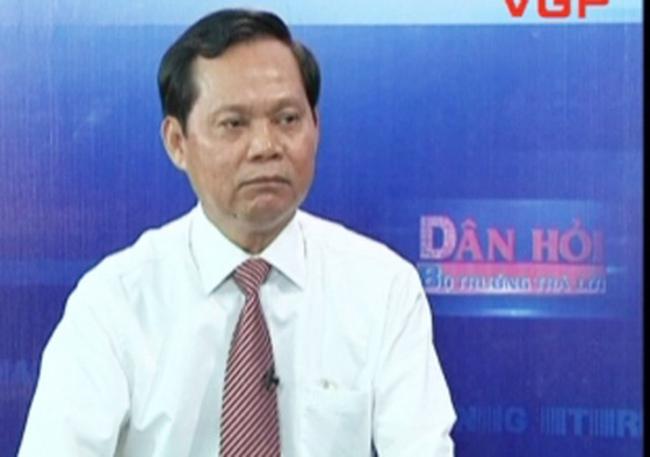 Tổng thanh tra Chính Phủ nói về nguyên nhân khiến nạn tham nhũng trở nên nghiêm trọng