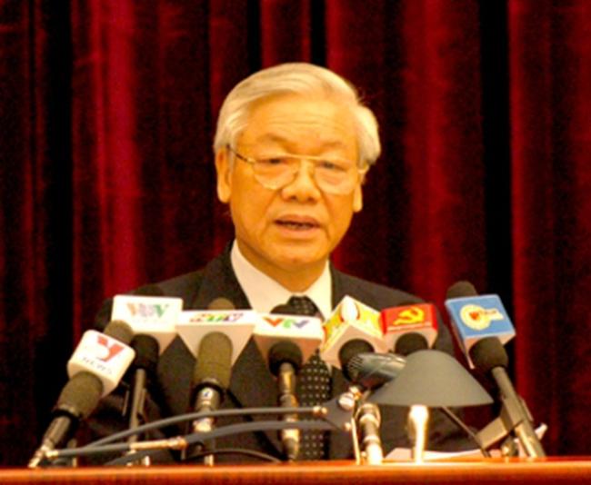 Toàn văn phát biểu bế mạc hội nghị lần 6 BCH TW Đảng XI của Tổng Bí thư