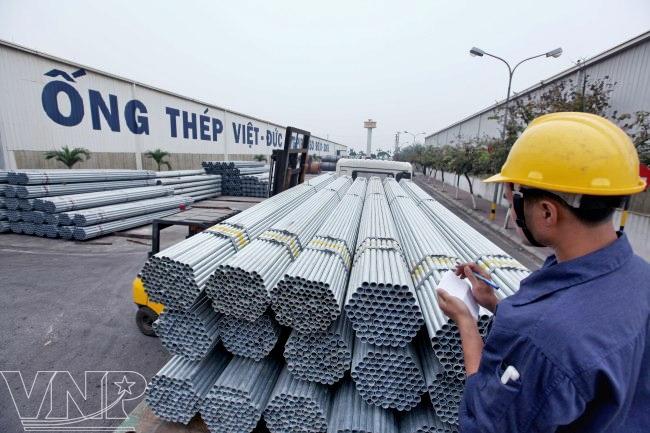 Ống thép Việt Đức (VGS) báo lãi quý 3 tăng mạnh so với cùng kỳ