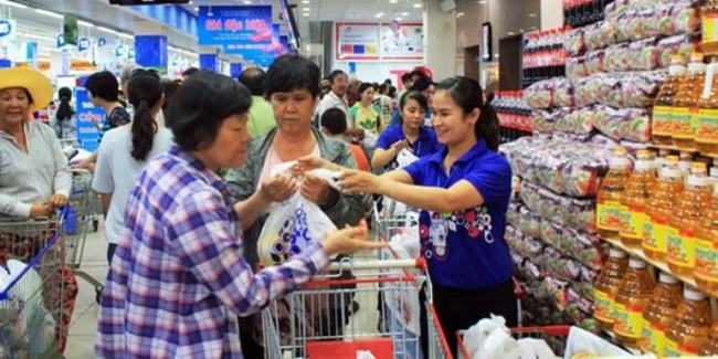 Hàng Tết siêu thị gấp 2-3 lần ngày thường