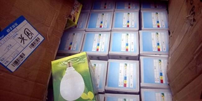 Thu giữ hàng trăm thùng hàng điện dân dụng nhập lậu
