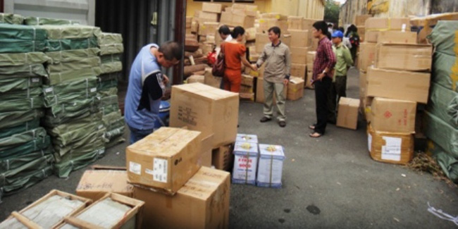 Hàng lậu Trung Quốc lại lộng hành
