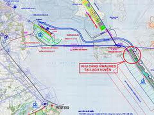 Lộ thêm rủi ro với cụm Dự án Cảng Lạch Huyện