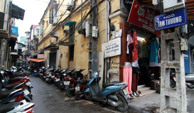 Hà Nội: Rủ nhau biến ngõ thành nơi buôn bán