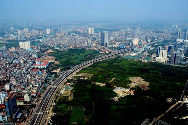 9 km đường trên cao Hà Nội trước ngày thông xe