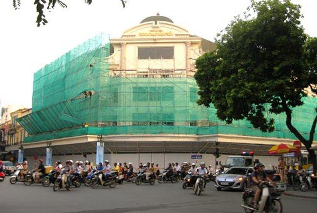 400 tỷ đồng sửa chữa Tràng Tiền Plaza