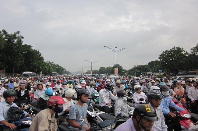 Đất dành cho giao thông tăng không kịp với nhu cầu
