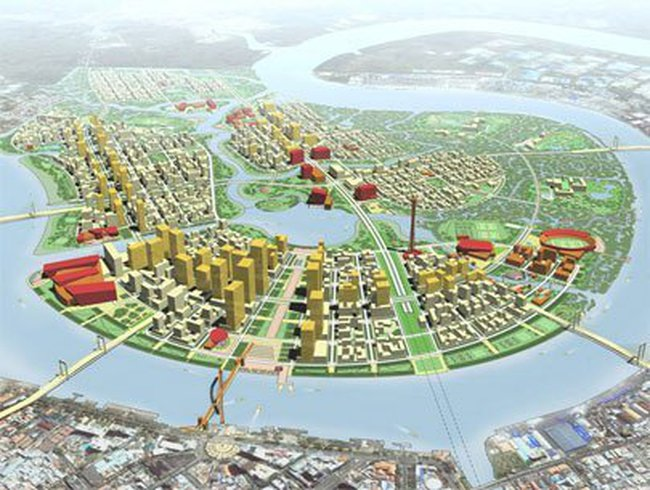 10.000 tỉ đồng xây 4 tuyến đường chính khu Thủ Thiêm