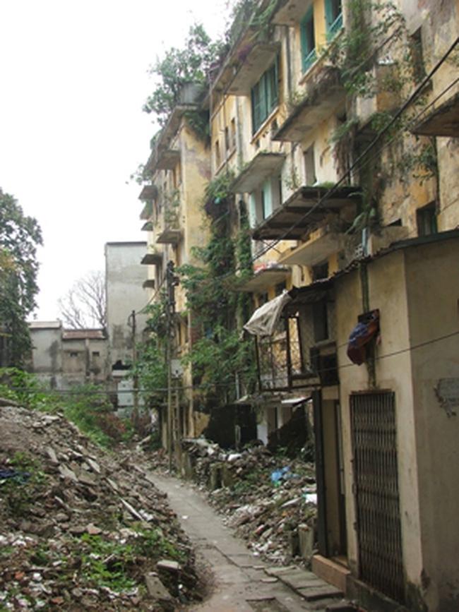 Hà Nội: Thu hồi đất của các hộ nhà A1, A2 Nguyễn Công Trứ