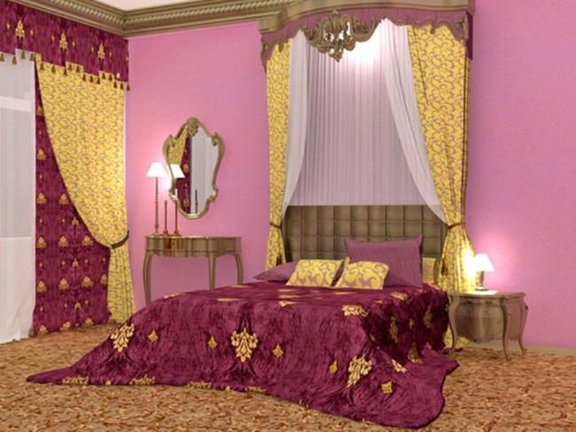 Vũ điệu sắc màu cho phòng ngủ vào thu