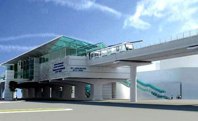 Khởi công tuyến đường sắt Hồ Tây - Hòa Lạc - Ba Vì vào năm 2017