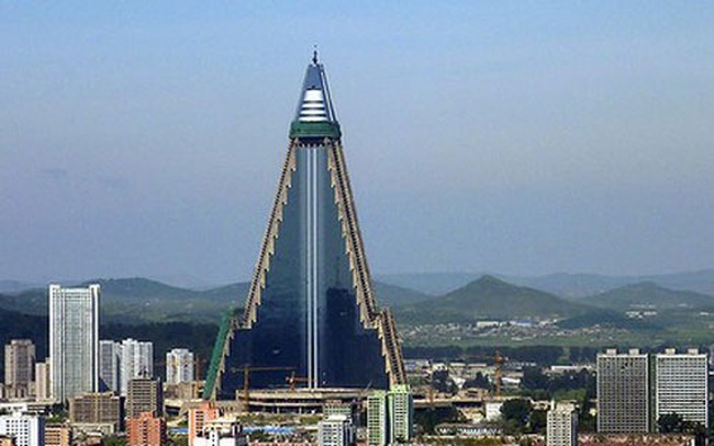 Sắp mở cửa khách sạn cao nhất thế giới ở Triều Tiên