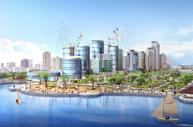 Chuẩn bị động thổ dự án Khu đô thị Tây Hồ