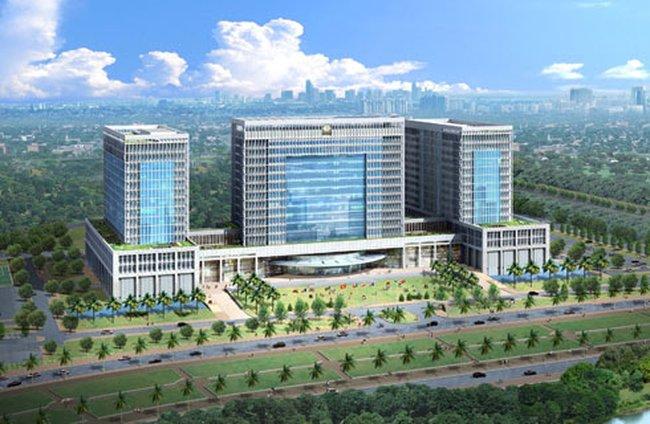 Trụ sở mới Bộ Ngoại giao làm bằng 6.000 tấn thép
