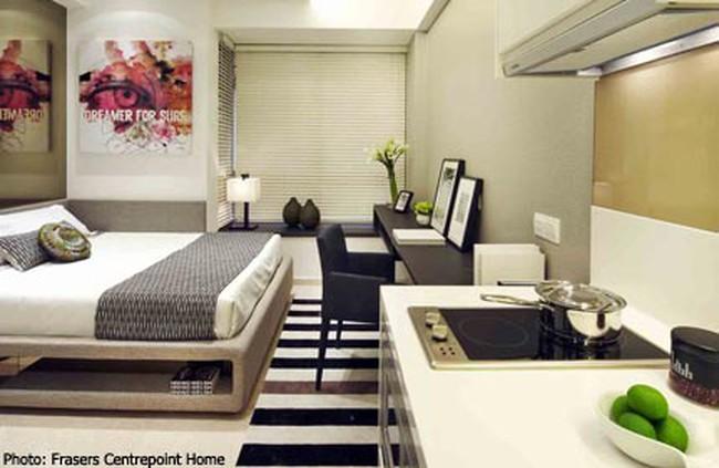 """Singapore """"sốt"""" căn hộ chìa khóa đôi"""