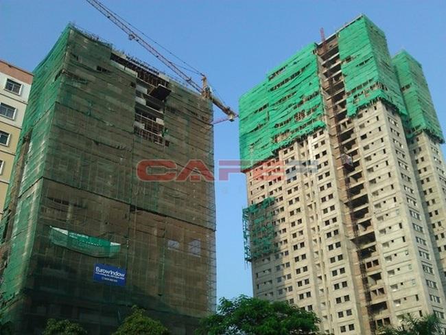 Tiến độ hàng loạt dự án khu vực Tam Trinh, Linh Đàm