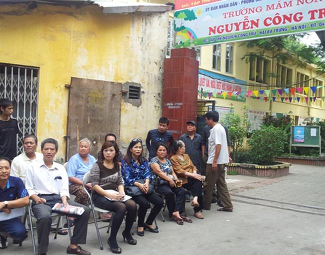 Quận Hai Bà Trưng lên kế hoạch cưỡng chế nhà A1, A2 Nguyễn Công Trứ