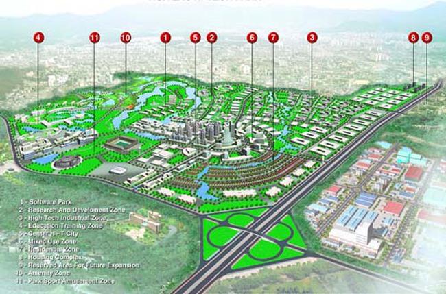 Đề xuất giải pháp thu hồi đất quy hoạch dự án Khu CNC Hòa Lạc