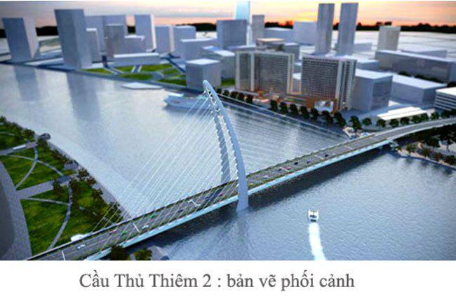 TPHCM chọn thiết kế cầu Thủ Thiêm 2