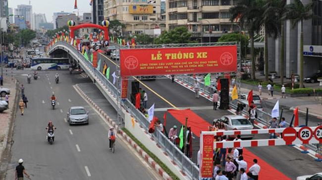 Hà Nội chuẩn bị thông xe thêm 2 cầu vượt