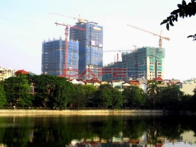 Tiến độ một số dự án khu vực quận Hoàng Mai, Đống Đa
